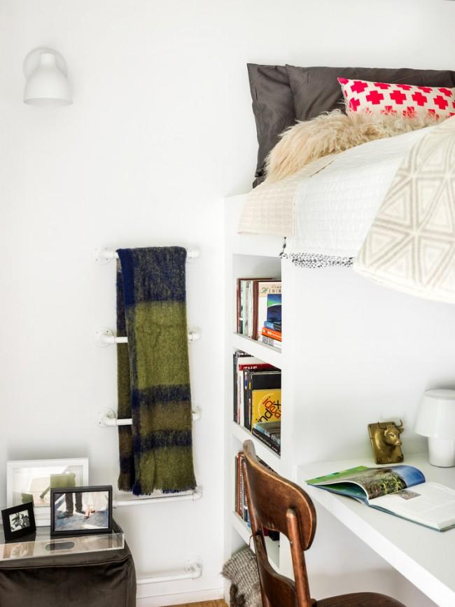 Кровать-чердак - идеальное решение для негабаритных квартир