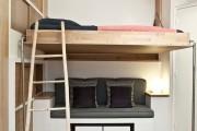 Фото 6 Кровать-чердак с рабочей зоной для подростка: 50 фото оптимизированного пространства