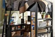 Фото 7 Кровать-чердак с рабочей зоной для подростка: 50 фото оптимизированного пространства