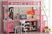 Фото 2 Кровать-чердак с рабочей зоной для подростка: 50 фото оптимизированного пространства