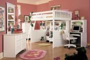 Фото 17 Кровать-чердак с рабочей зоной для подростка: 50 фото оптимизированного пространства