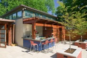 Фото 11 Летняя кухня на даче: варианты организации пространства