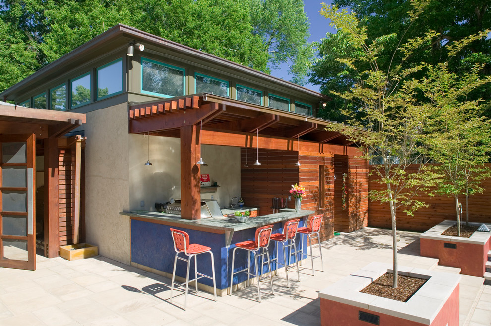 Открытые летние кухни на даче дешевую