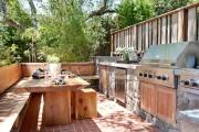 Фото 12 Летняя кухня на даче: варианты организации пространства