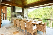 Фото 17 Летняя кухня на даче: варианты организации пространства