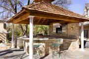 Фото 25 Летняя кухня на даче: варианты организации пространства