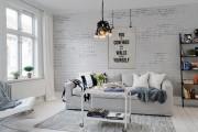 Фото 21 Комбинированные обои для зала: как оригинально оформить комнату?