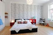 Фото 22 Комбинированные обои для зала: как оригинально оформить комнату?