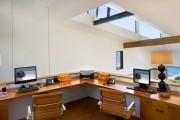 Фото 9 Угловой компьютерный стол: 40 идей практичных вариантов для домашнего офиса