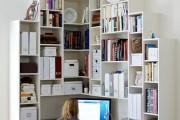 Фото 2 Угловой компьютерный стол: 40 идей практичных вариантов для домашнего офиса