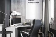 Фото 10 Угловой компьютерный стол: 40 идей практичных вариантов для домашнего офиса