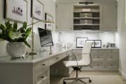 Фото 11 Угловой компьютерный стол: 40 идей практичных вариантов для домашнего офиса