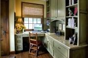 Фото 12 Угловой компьютерный стол: 40 идей практичных вариантов для домашнего офиса