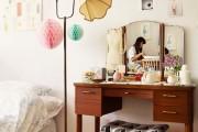 Фото 12 Шикарные реализации туалетного столика с зеркалом в интерьере (фото)