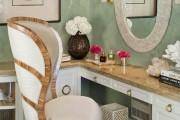 Фото 20 Шикарные реализации туалетного столика с зеркалом в интерьере (фото)