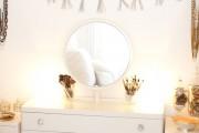 Фото 34 Шикарные реализации туалетного столика с зеркалом в интерьере (фото)