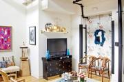 Фото 19 Тумбочка под телевизор: 45 современных идей для гостиной (фото)