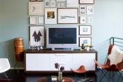 Фото 1 Тумбочка под телевизор: 45 современных идей для гостиной (фото)