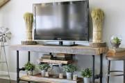 Фото 7 Тумбочка под телевизор: 45 современных идей для гостиной (фото)