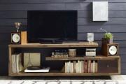 Фото 3 Тумбочка под телевизор: 45 современных идей для гостиной (фото)