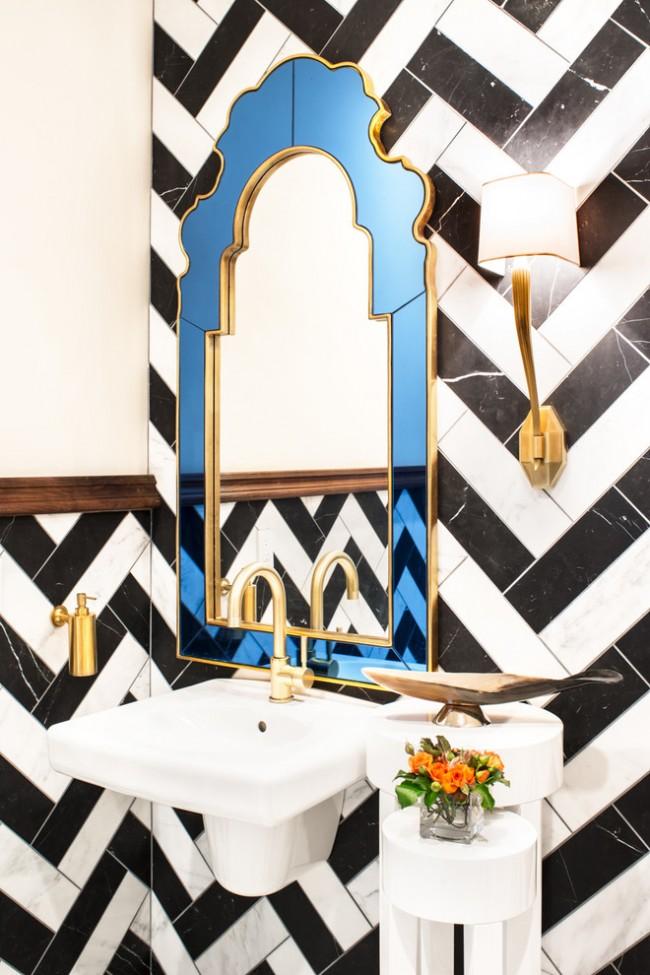 """Зеркала нестандартной формы или обрамления помогут подчеркнуть, дополнить и привнести в интерьер декоративную """"изюминку"""""""
