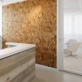 55 идей ламината на стене: креативное применение напольного покрытия (фото) фото