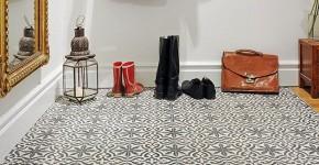 Плитка на пол в коридоре: 55 практичных решений дизайна прихожей (фото) фото