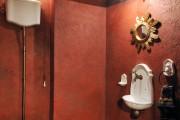 Фото 30 Дизайн интерьера туалета: 85 больших идей для маленького помещения (фото)