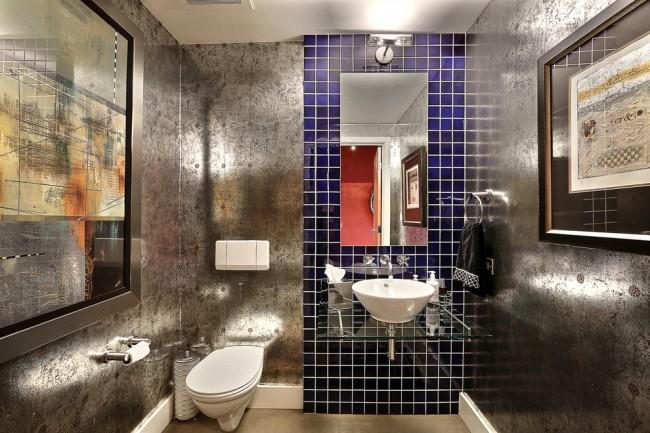 Современный туалет должен быть функциональным, уютным и, конечно же, отделанным влагостойкими материалами