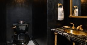 Дизайн интерьера туалета: 85 больших идей для маленького помещения (фото) фото