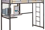 Фото 22 Кровать-чердак с рабочей зоной для подростка: 50 фото оптимизированного пространства