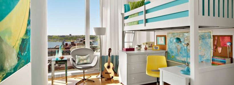 Дизайн и интерьер детской комнаты - лучшие статьи на эту тему