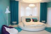 Фото 5 Круглая кровать в спальне: необычно и очень практично (фото)