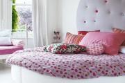 Фото 6 Круглая кровать в спальне: необычно и очень практично (фото)
