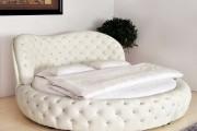 Фото 10 Круглая кровать в спальне: необычно и очень практично (фото)