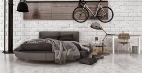 Круглая кровать в спальне: необычно и очень практично (фото) фото