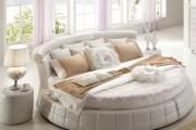 Фото 8 Круглая кровать в спальне: необычно и очень практично (фото)