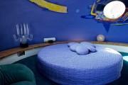 Фото 12 Круглая кровать в спальне: необычно и очень практично (фото)