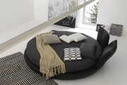 Фото 14 Круглая кровать в спальне: необычно и очень практично (фото)