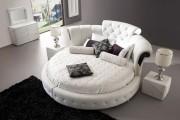 Фото 15 Круглая кровать в спальне: необычно и очень практично (фото)