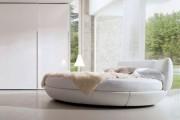 Фото 19 Круглая кровать в спальне: необычно и очень практично (фото)