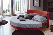 Фото 2 Круглая кровать в спальне: необычно и очень практично (фото)