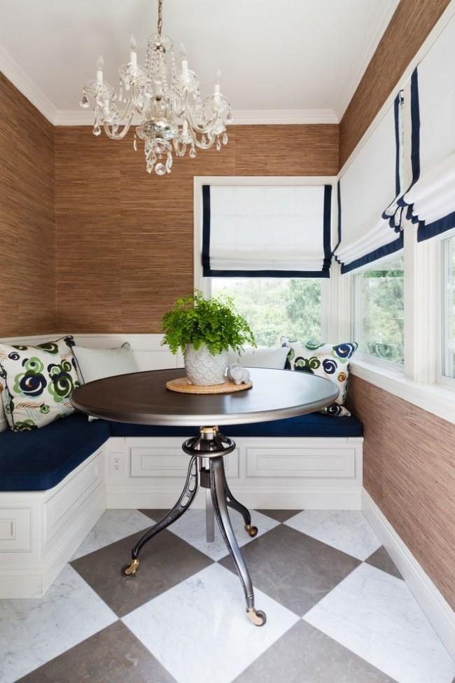 Удобная и функциональная мебель, не нарушающая спокойную гармонию переходного стиля