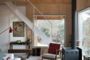 Фото 8 55 идей ламината на стене: креативное применение напольного покрытия (фото)