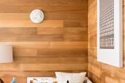 Фото 4 55 идей ламината на стене: креативное применение напольного покрытия (фото)