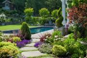 Фото 9 Ландшафтный дизайн дачного участка: 60 воплощений зеленого рая своими руками (фото)