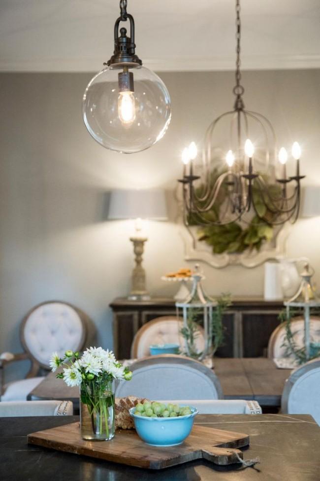 Светильники для кухни — обязательная деталь интерьера