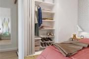 Фото 19 50 Идей маленьких гардеробных комнат: максимум удобства и минимум пространства (фото)