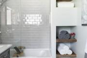 Фото 14 Дизайн маленькой ванной комнаты: 85+ секретов гармоничного оформления и экономии места