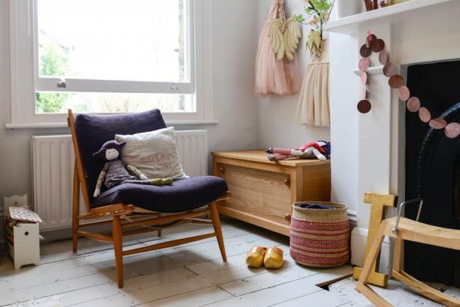 Простой декор, так любимый в скандинавском дизайне, - добавит детской комнате уюта и тепла